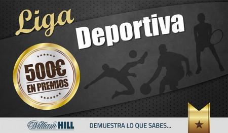 #LigaDeportiva con 500€ en premios y TOTALMENTE GRATIS