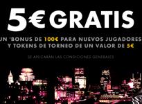 Consigue 5€ sin depósito con Bet365 póquer
