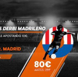 Real Madrid a cuota 11 y Atlético de Madrid a cuota 8:
