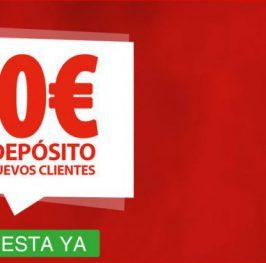 No lo dejes escapar!!! 10€ Gratis sin DEPÓSITO!!