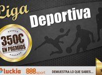 #Liga Deportiva con 350€ en premios