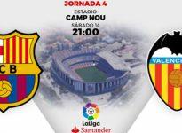 La Liga / Barcelona - Valencia